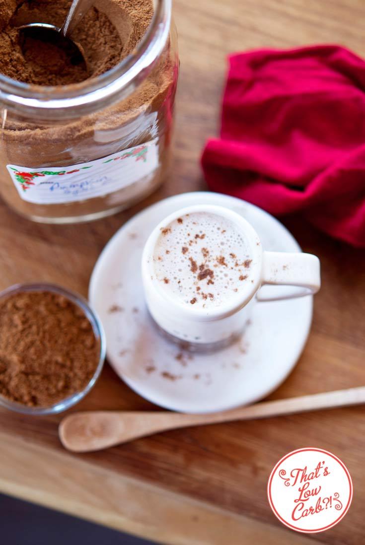 Low Carb Coconut Pumpkin Steamer Recipe