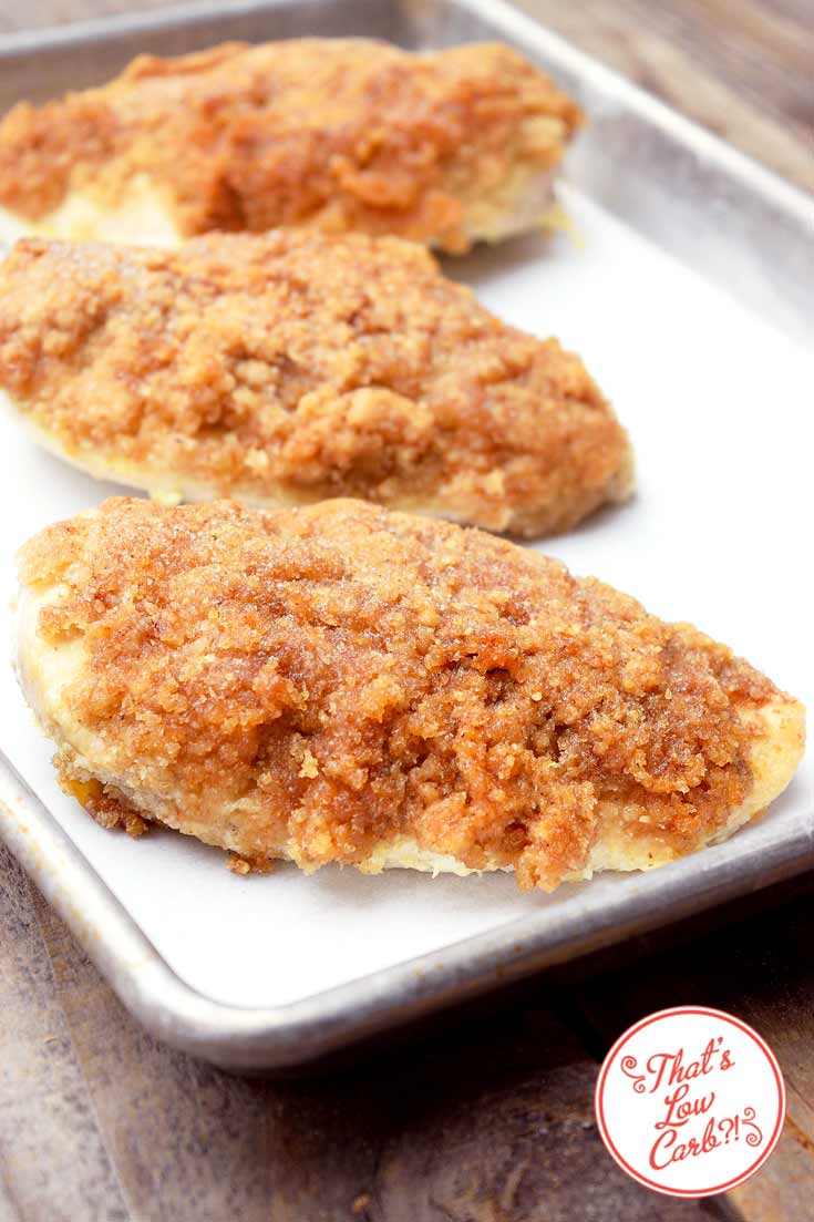 Low Carb Macadamia Nut Crusted Chicken
