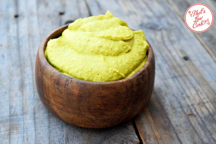 Low Carb Avocado Curry Dip Recicpe