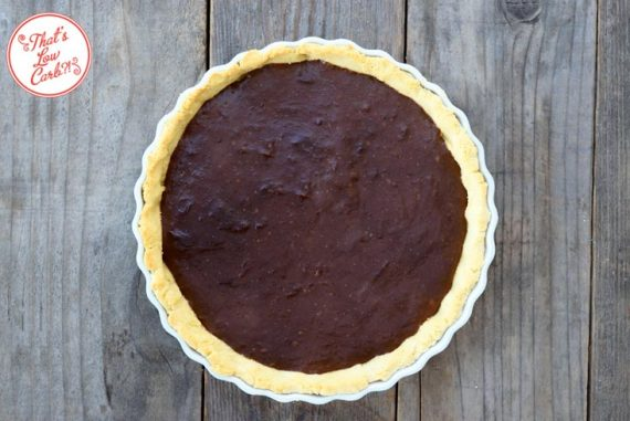 Low Carb Chocolate Pie Recipe