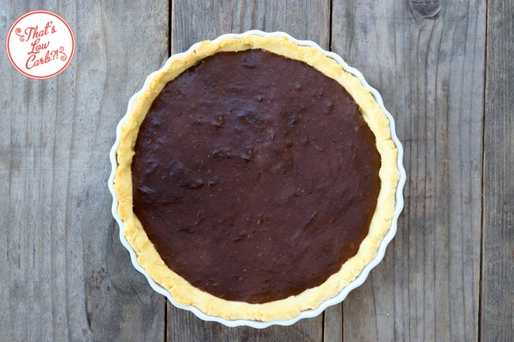 Low Carb Chocolate Pie Recipe Whole View