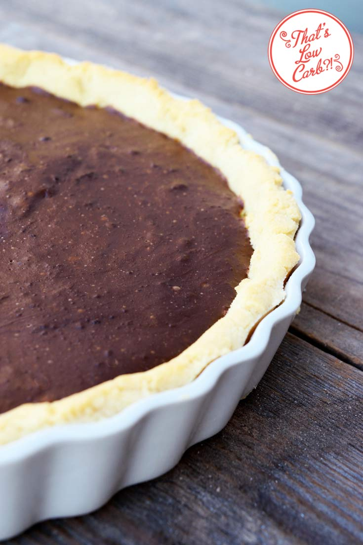 Low Carb Chocolate Pie Recipe In Pan