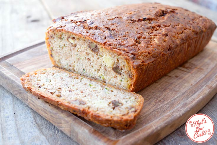 Low Carb Zucchini Bread Recipe Ready To Eat
