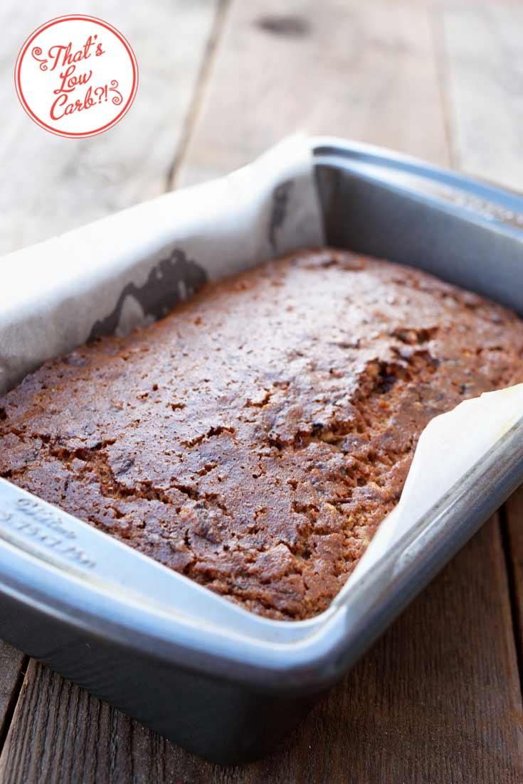 Low Carb Zucchini Bread Recipe In Pan