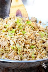 Low Carb Chinese Chicken Fried Rice Recipe
