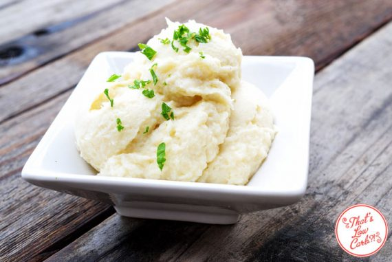 Low Carb Mashed Cauliflower Recipe