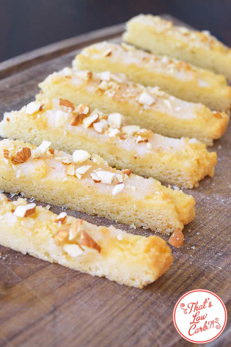 Low Carb Orange Almond Cake Bars Recipe