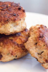 Low Carb Turkey Breakfast Sausage Patties Recipe