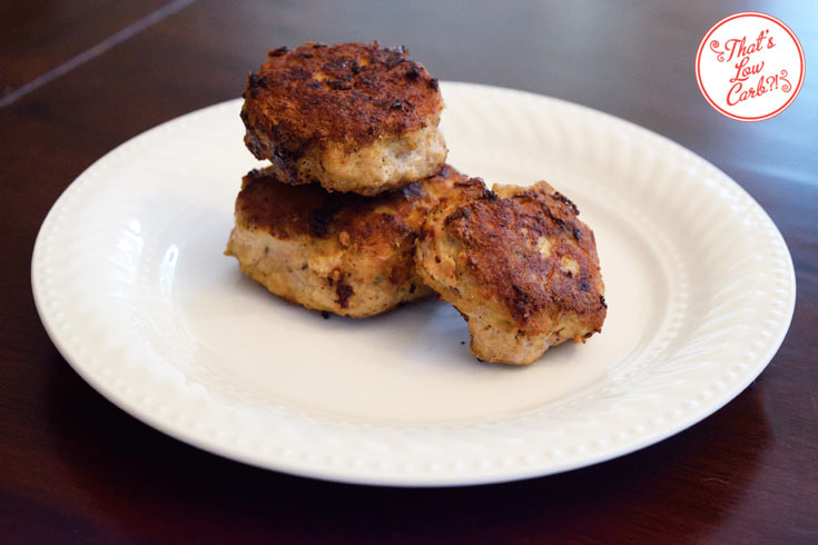 Low Carb Breakfast Sausage Patties Recipe