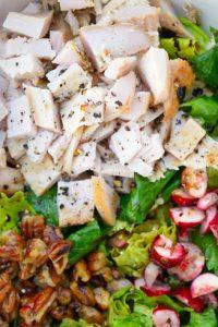 Low Carb Thanksgiving Leftover Buddha Bowl Recipe