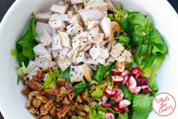 Low Carb Thanksgiving Leftover Buddha Bowl Recipe