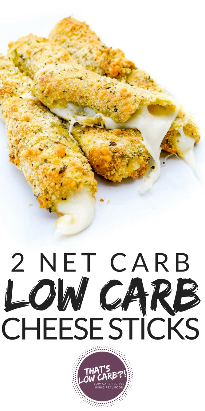 Low Carb Cheese Sticks Keto Mozzarella Sticks Recipe