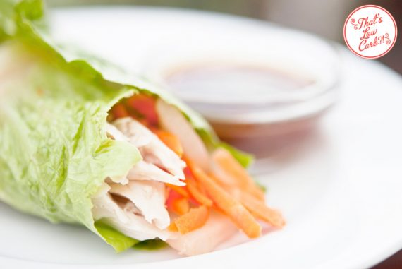 Low Carb Asian Style Lettuce Wraps Recipe