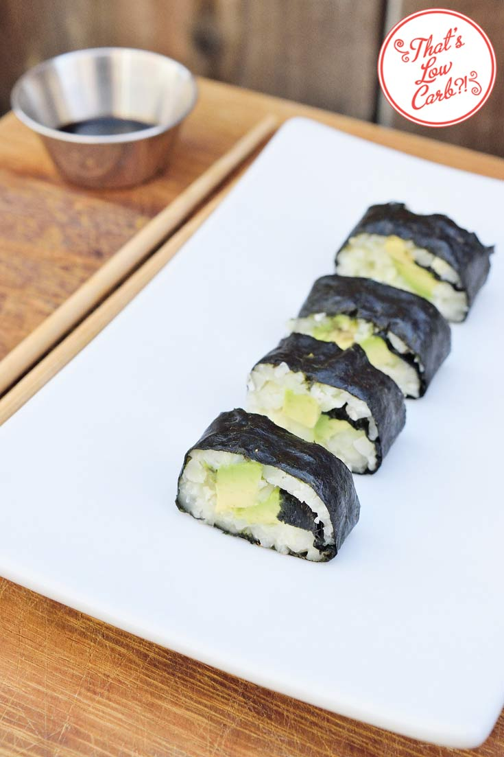 Low Carb Avocado Rolls Recipe