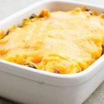 Low Carb Cheddar Broccoli Chicken Casserole Recipe