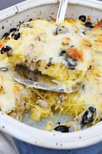Low Carb Spaghetti Squash Casserole Recipe
