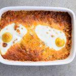 Low Carb Chicken Enchilada Breakfast Casserole Recipe