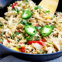 Low Carb Jalepeno Pepper Chicken Skillet Recipe