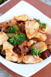 Low Carb Manhattan Chicken Skillet Recipe