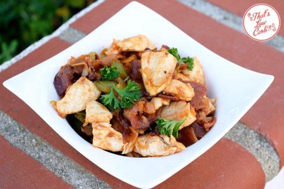 Low Carb Manhattan Chicken Skillet Recipe