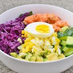 Low Carb Salmon Buddha Bowl Recipe