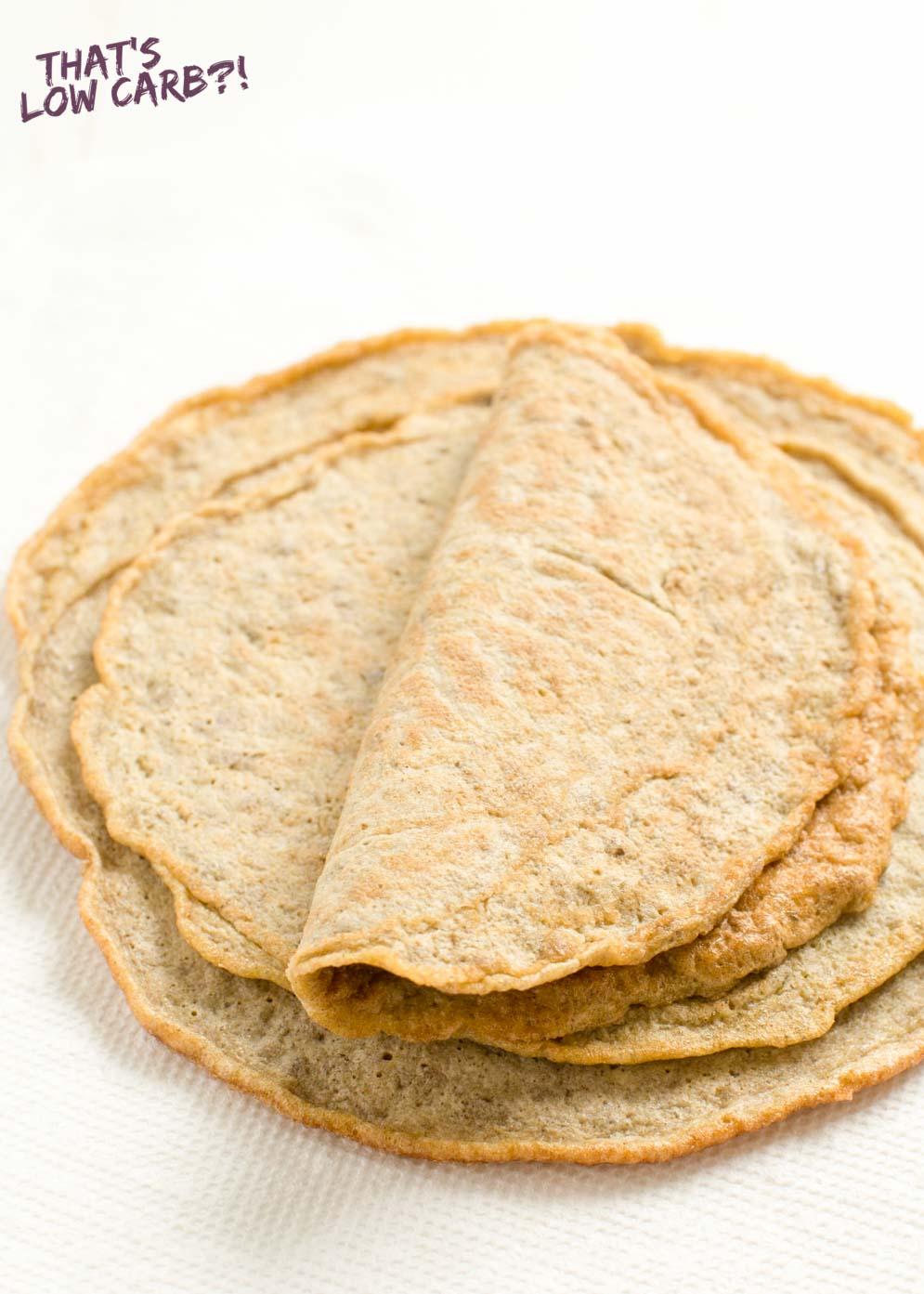 Low Carb Tortillas Recipe