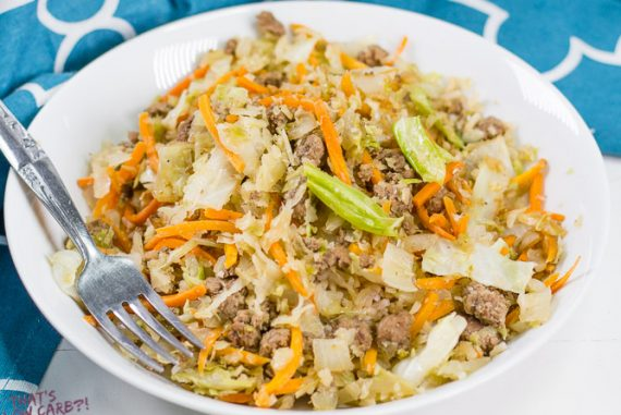 Low Carb Egg Roll in Bowl Recipe (Crack Slaw)