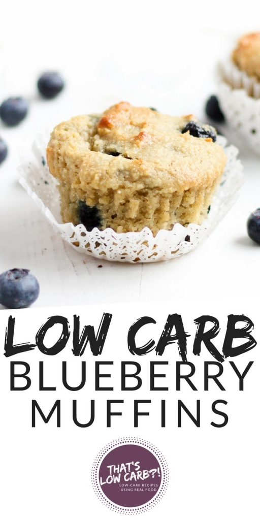 Low Carb Blueberry Muffins Recipe | Low Carb Recipes by That's Low