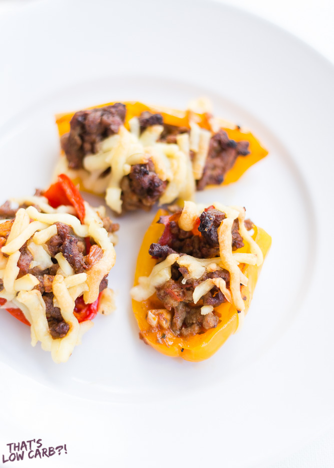 Keto Taco Stuffed Peppers Recipe