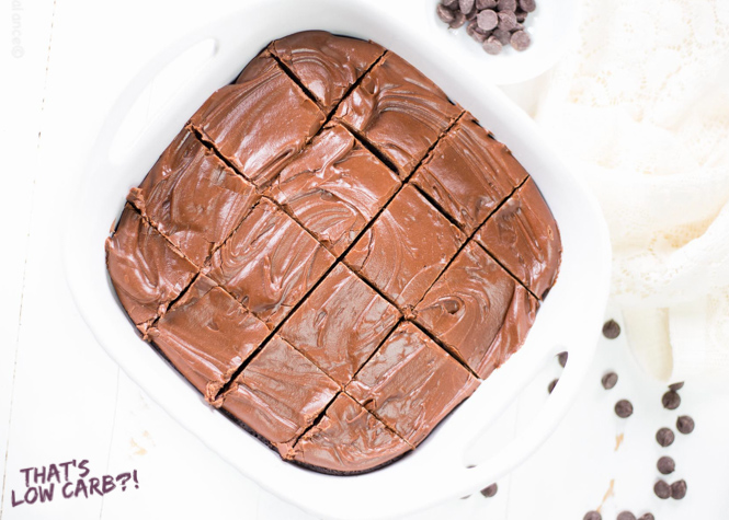 Low Carb Chocolate Frosting recipe