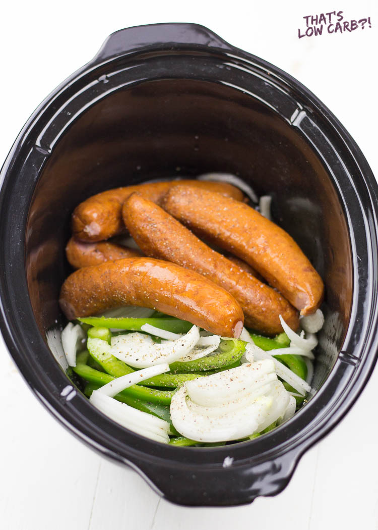Crockpot Sausage and Peppers Recipe