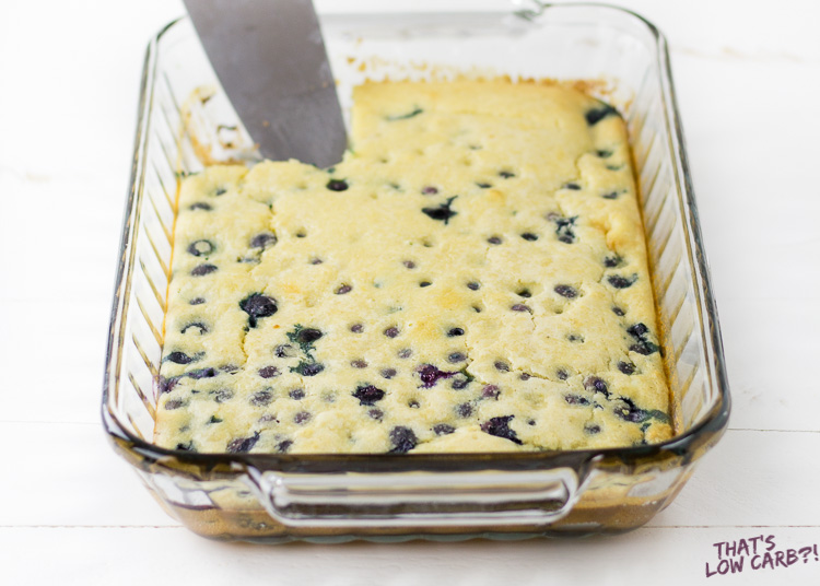 Keto Pancake Almond Flour Casserole