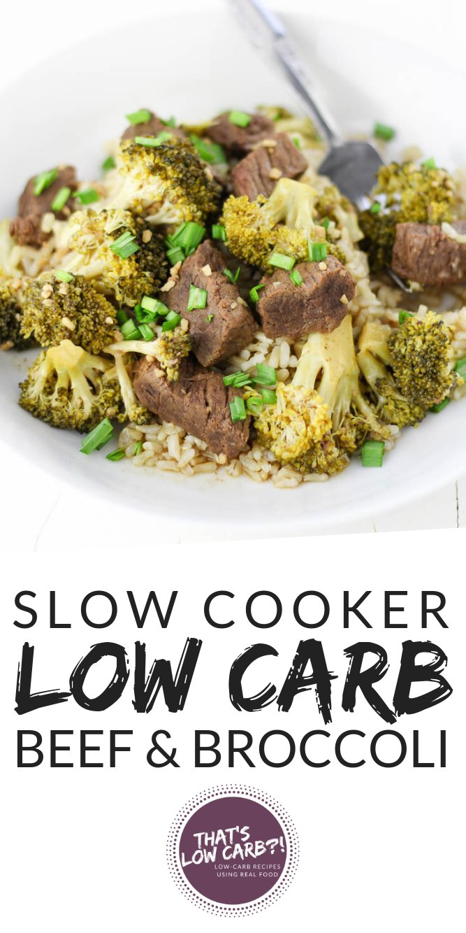 Low Carb Beef and Broccoli Recipe