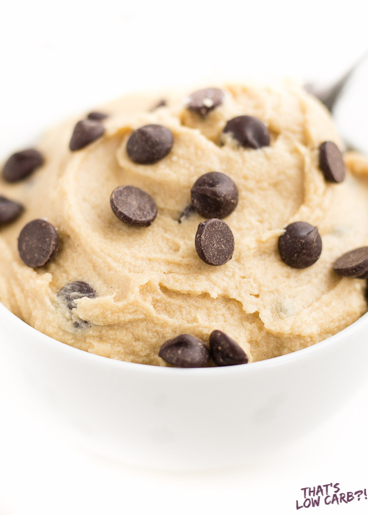 Low Carb Keto Cookie Dough Recipe