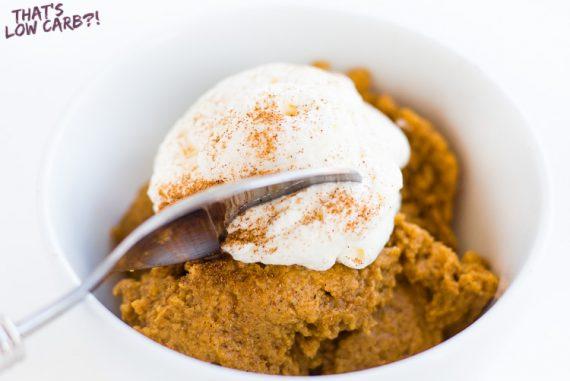 Crustless Pumpkin Pie Recipe