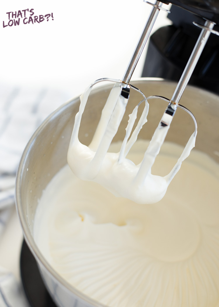 Low Carb Keto Whipped Cream Recipe