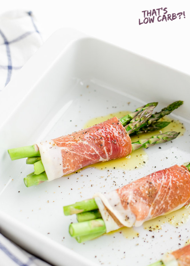 Prosciutto Wrapped in Asparagus