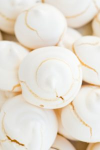 Low Carb Sugar Free Meringue Cookies