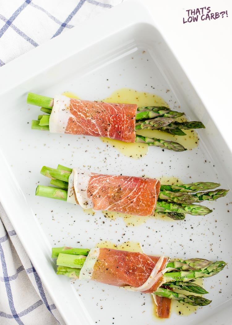Prosciutto Wrapped in Asparagus Recipe
