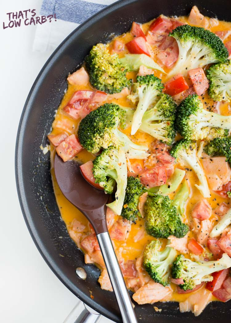 Keto Salmon Sundried Tomatoes and Broccoli Recipe
