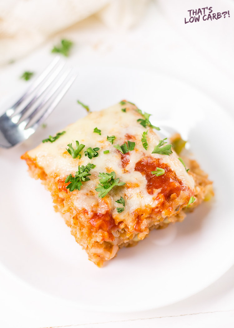 Low Carb Chicken Enchilada Casserole Recipe