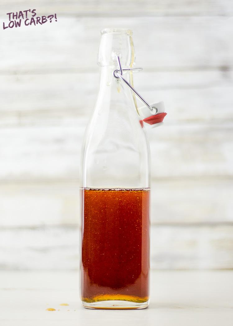 Low Carb Keto Pancake Syrup Recipe