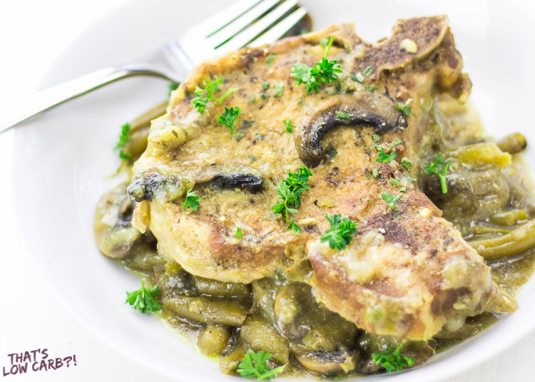 Dijon Mustard Low Carb Instant Pot Pork Chops Recipe
