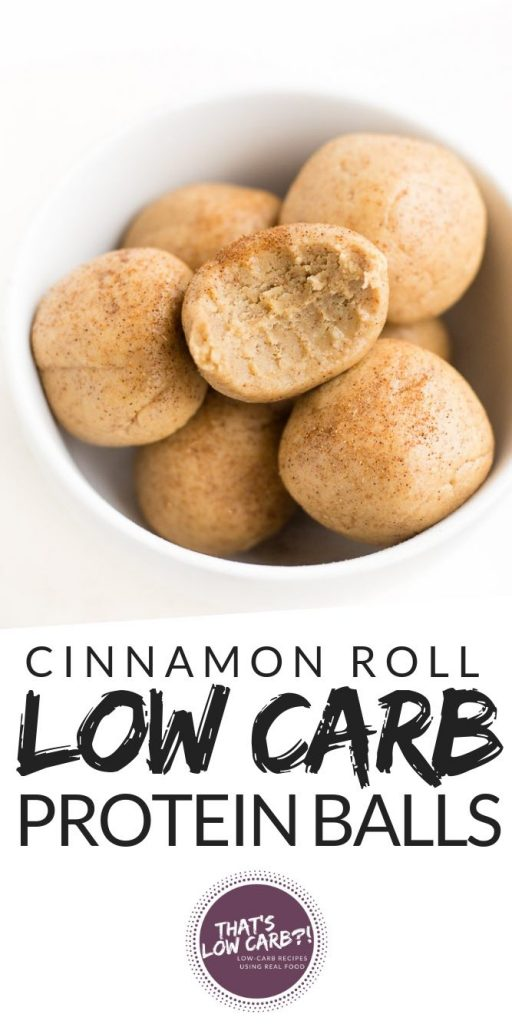 No Bake Protein Balls Recipe | Low Carb Recipes by That's Low Carb?!