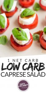 Keto Caprese Salad Recipe Keto Low Carb Recipes By That S Low Carb
