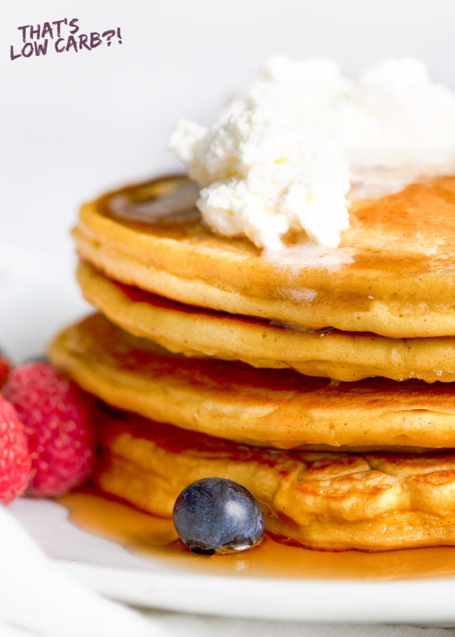 Keto Cream Cheese Pancakes - That's Low Carb
