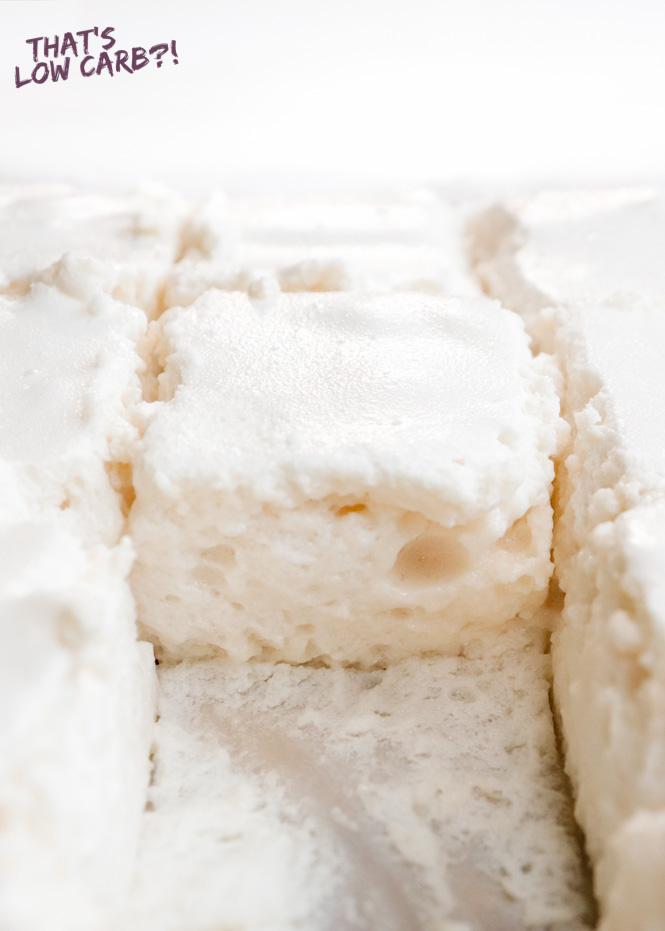 Keto Marshmallows Recipe