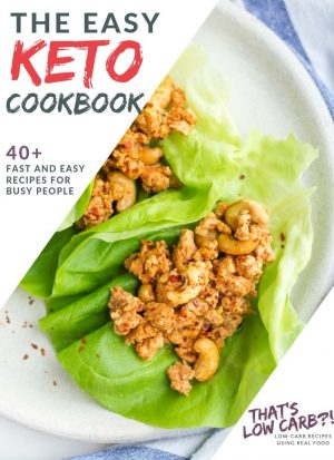 "Image of cover of ""The Easy Keto Cookbook"""