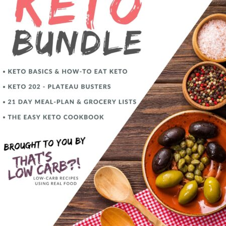 """Image of cover of """"The Ultimate Keto Bundle""""."""