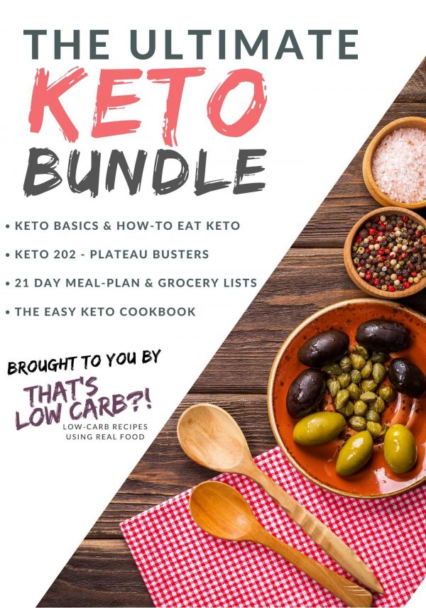 "Image of cover of ""The Ultimate Keto Bundle""."